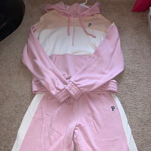 PINK Victoria's Secret Jackets & Coats - PINK sweatsuit set